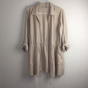 Chico's Easy Wear Tan Summer Duster 2